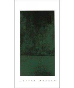 Jürgen Wegner, Untitled, 1993 (green) (Büttenpapier)