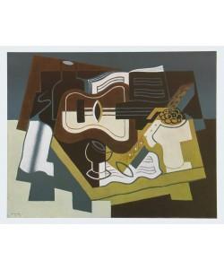 Juan Gris, Gitarre und Klarinette, 1920