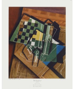 Juan Gris, The Checkerboard