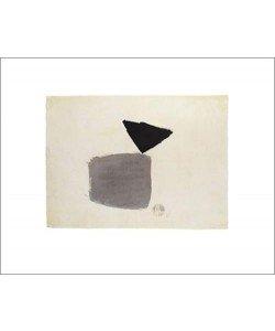 Julius BISSIER, Viereck und Dreieck 4.10.48, 1948