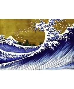 Katsushika Hokusai, Grosse Welle
