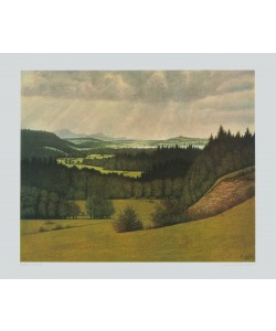 Karl Haider, Voralpenlandschaft