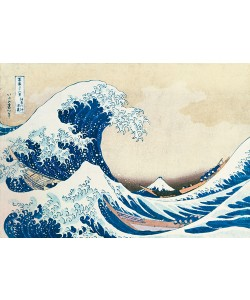 Katsushika Hokusai, Die große Welle von Kanagawa