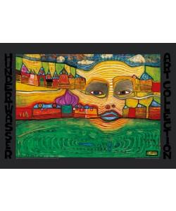 Friedensreich Hundertwasser, IRINALAND ÜBER DEM BALKAN