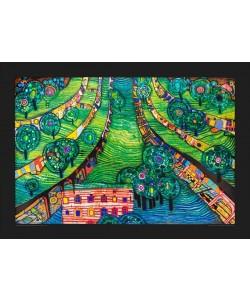 Friedensreich Hundertwasser, Grüne Stadt (groß)