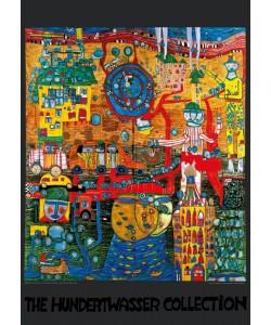 Friedensreich Hundertwasser, DAS 30 TAGE FAX BILD