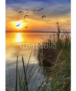 kesipun, desde la orilla del lago