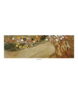 Gustav Klimt, Wasserschlangen 1904-1907