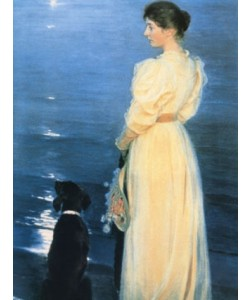 Peder Severin Kroyer, Summer evening at Skagen