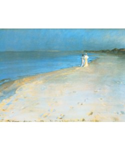 Peder Severin Kroyer, Summer evening