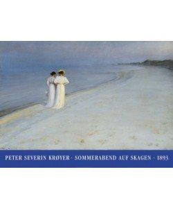 Peder Severin Kroyer, Sommerabend auf Skagen