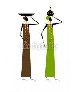 Kudryashka, Ethnic women with jugs