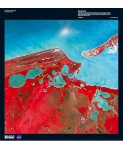 Landsat-7, Campeche