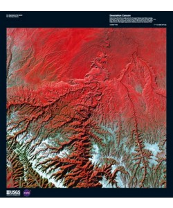 Landsat-7, Desolation Canyon