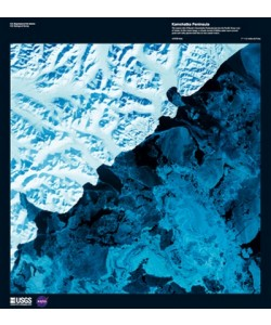 Landsat-7, Kamchatka Peninsula