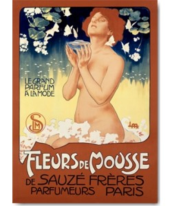 Leopoldo Metlicovitz, Fleurs de Mousse