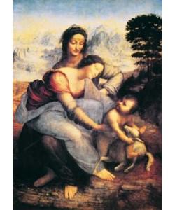 Leonardo da Vinci, Die heilige Anna