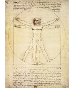 Leonardo da Vinci, Vitruvian Man