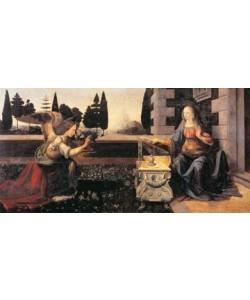 Leonardo da Vinci, Die Verkndigung Mariae