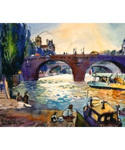 Leu Michael, Evening by the Seine