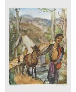 Lou Albert-Lazard, Meo mit Pferdchen