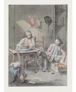 Louis Aubert, Zwei Malerjungen