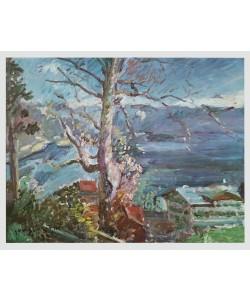 Lovis Corinth, Baum am Walchensee, 1923