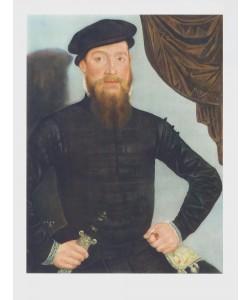 Lucas Cranach der Ältere, Bildnis eines Mannes