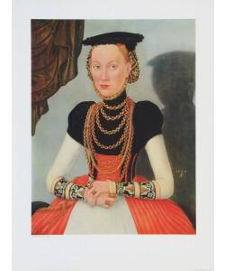 Lucas Cranach der Ältere, Bildnis einer Frau (Kleinformat)