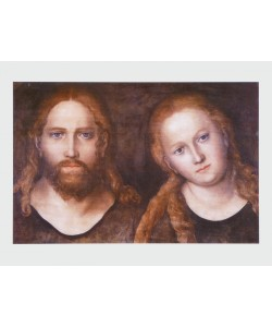 Lucas Cranach der Ältere, Christus und Maria, 1516–20