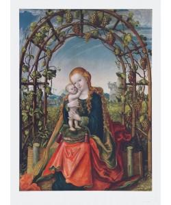 Lucas Cranach der Ältere, Madonna in der Weinlaube