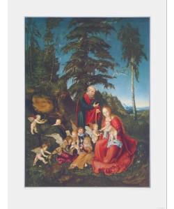 Lucas Cranach der Ältere, Ruhe auf der Flucht