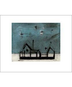 Lyonel Feininger, Night landscape