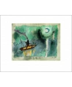 Lyonel Feininger, Once in a blue moon, 1938