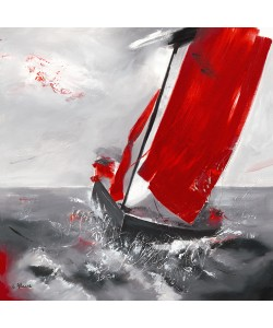 Lydie Allaire, Voile rouge
