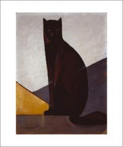 M-Louis BAUGNIET, Le chat noir, 1921