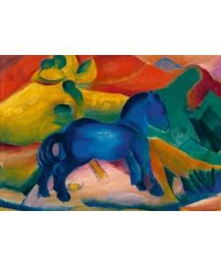 Franz Marc, Blaues Pferdchen