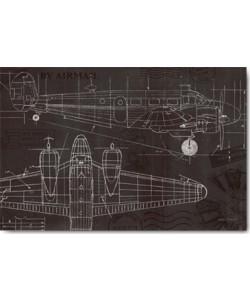 Marco Fabiano, Plane Blueprint I
