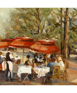 Marilyn Hageman, Lunch on the Champs Elysees