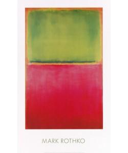 Mark Rothko, Untitled (Green, Red on Orange)