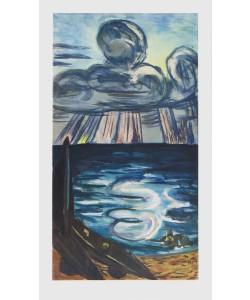 Max Beckmann, Meer und Wolken