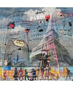 Maïlo / M-L Vareilles, Impressions urbaines: La Tour Eiffel