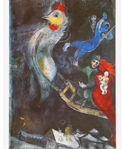 Marc Chagall, Das fliegende Pferd - 1948