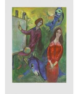Marc Chagall, Der Künstler und sein Modell