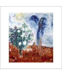 Marc Chagall, Die liebenden über st Paul, 1970/71