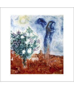 Marc Chagall, Die liebenden ber st Paul, 1970/71