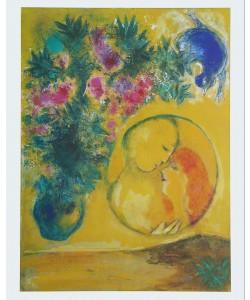 Marc Chagall, Sonne und Mimosen