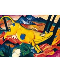 Franz Marc, Die gelbe Kuh