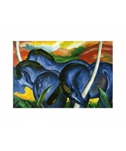Franz Marc, Die großen blauen Pferde