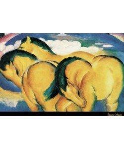 Franz Marc, Little yellow Horses